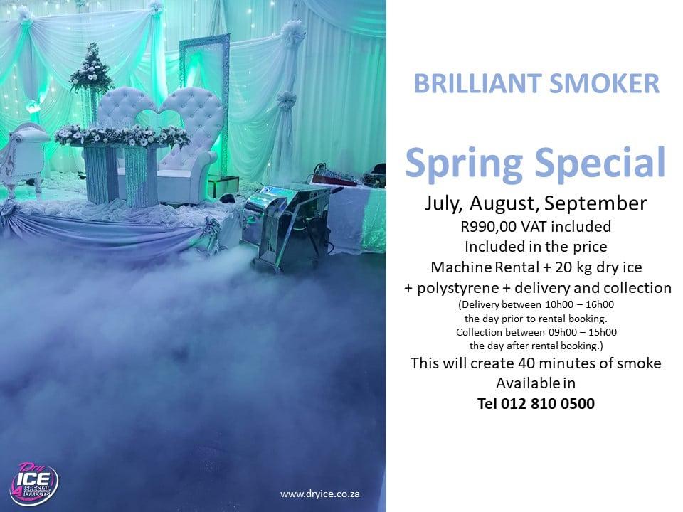 Brilliant Smoker Spring Special