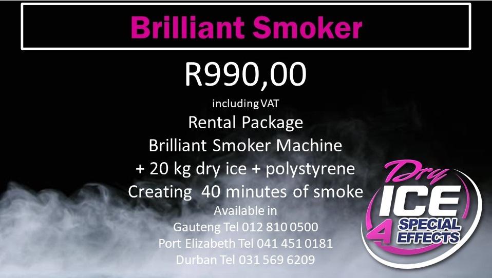 Brilliant Smoker Rental