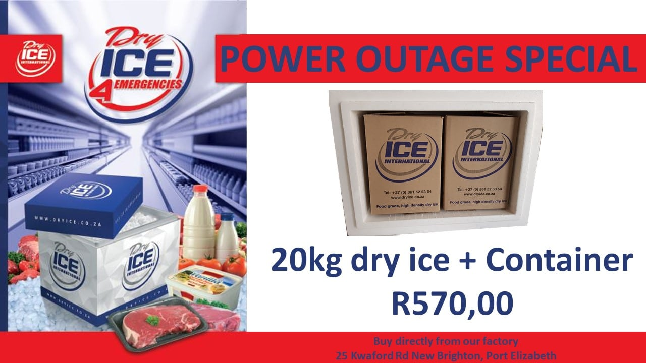 Power Outage PE dry ice