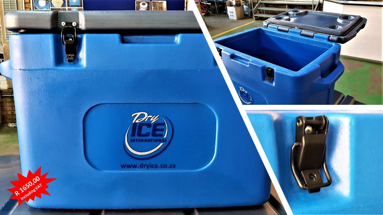 Dry ice Cooler box