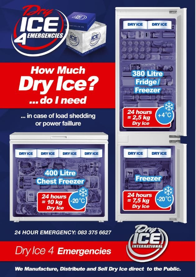 dry ice south africa prices