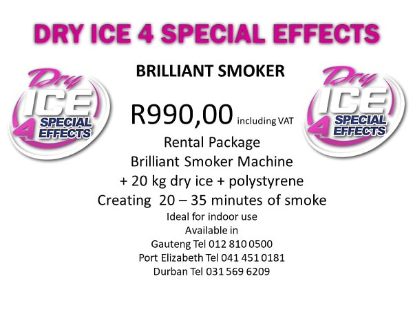 Brilliant Smoker Instore Rental