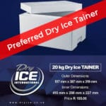 preferred dry ice tainer